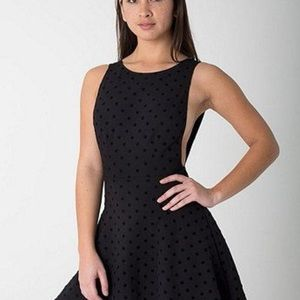 American Apparel Dresses - American Apparel Ponte Knit Backless Skater Dress